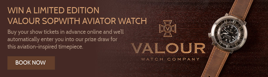 Win Valour Sopwith Aviator Watch