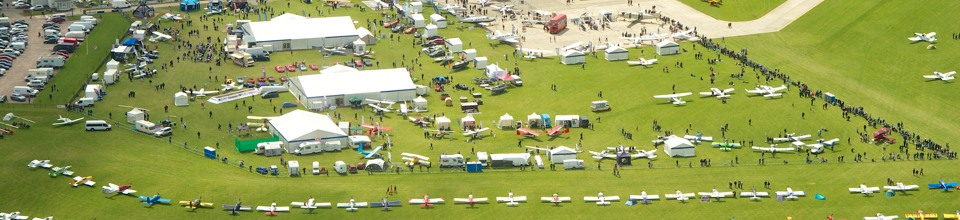 AeroExpo UK Aerial View
