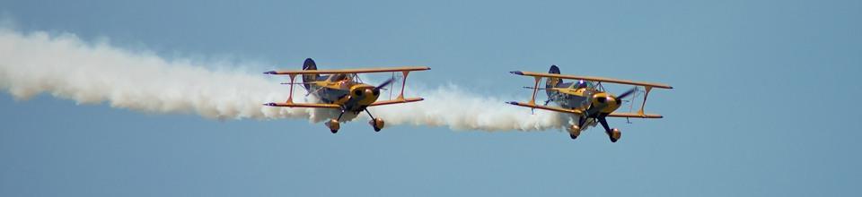Air display acts at AeroExpo UK