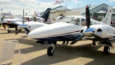Visiting AeroExpo UK