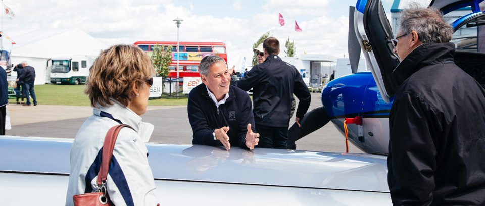 Aircraft dealers at AeroExpo UK