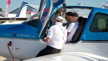 Demo Flights at AeroExpo UK