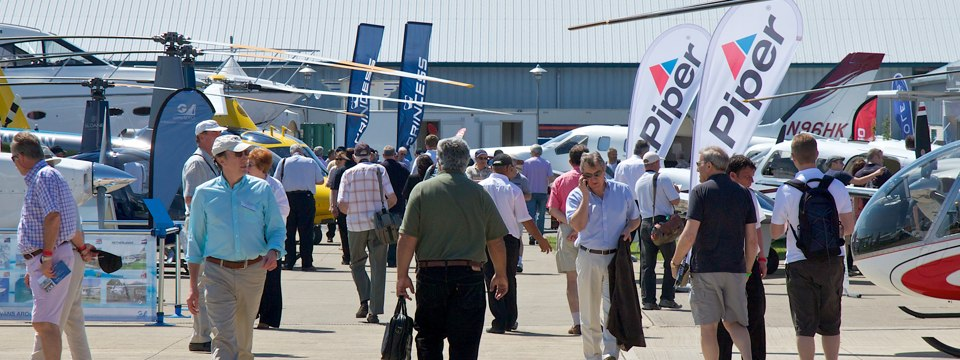 Exhibiting options at AeroExpo UK