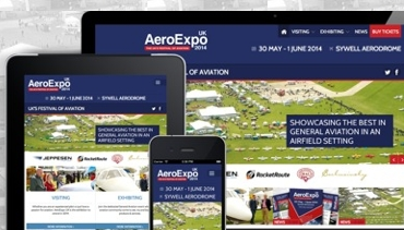 New AeroExpo UK website