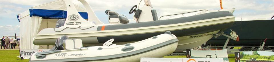 Piranha Ribs at AeroExpo UK