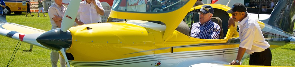 Sports Aircraft at AeroExpo UK