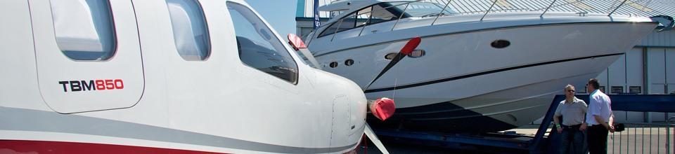 TMB850 and Princess Yacht