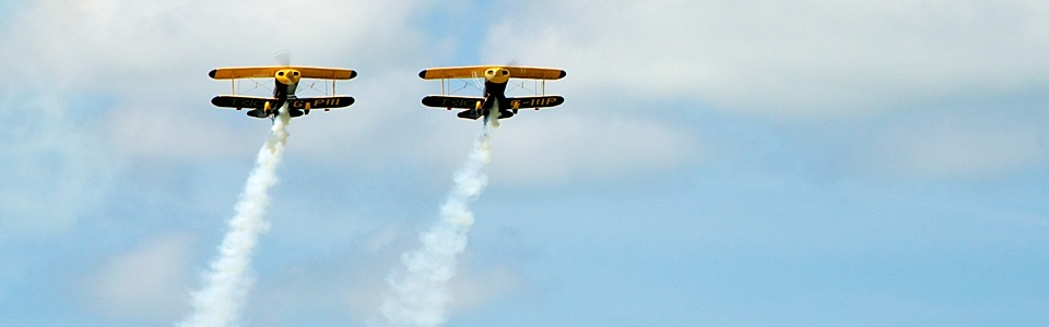 Trig Aerobatic at AeroExpo UK