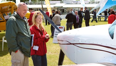 Visiting AeroExpo UK