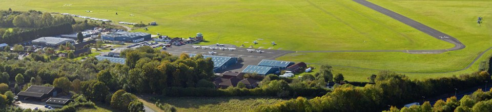 Wycombe Air Park - our venue